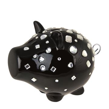 Salt en pepper spaarvarken black bling