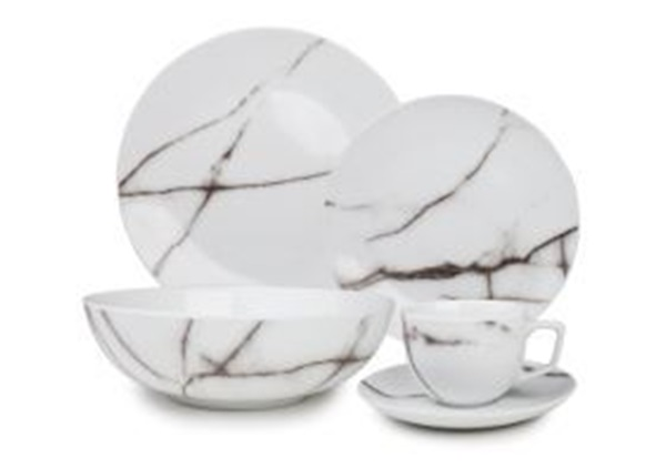 Salt en pepper servies marble
