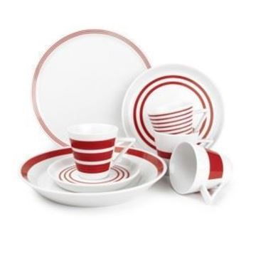 Salt en pepper servies red
