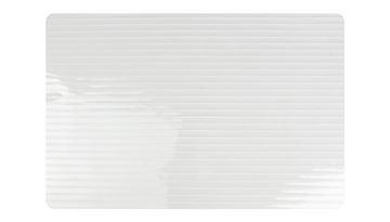 Placemat stripes wit