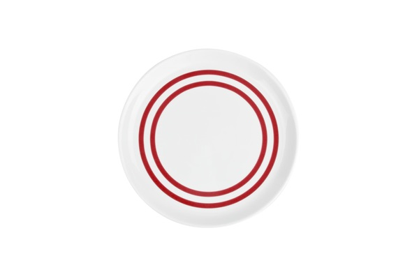 Salt en pepper dessertbord stripes red