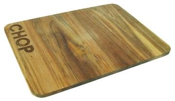 Salt en pepper snijplank hout