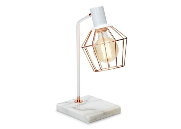 Salt en pepper schemerlamp marmer