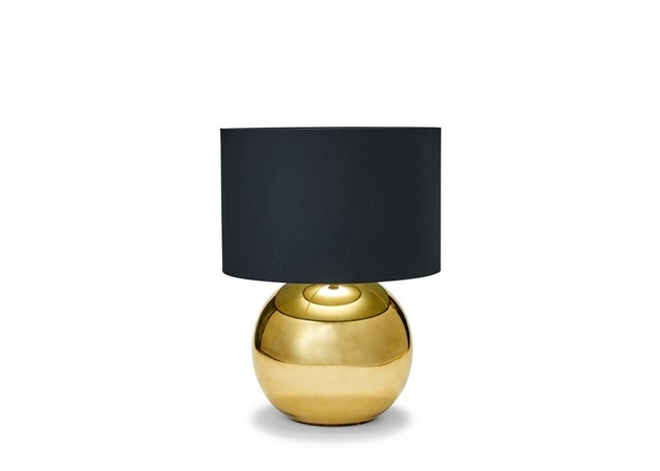Salt en pepper schemerlamp goud