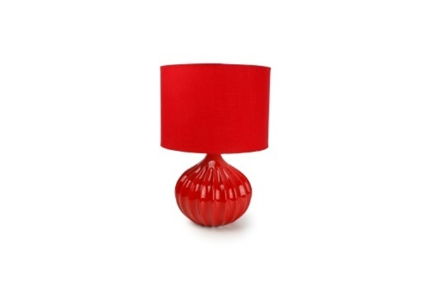 Salt en pepper lamp red