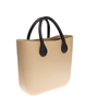 O bag eco leather handels zwart