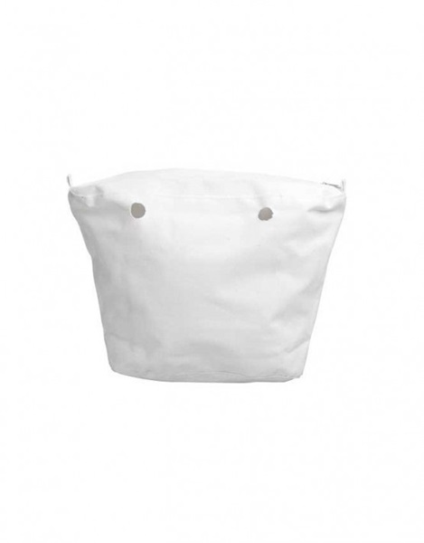 O bag canvas white