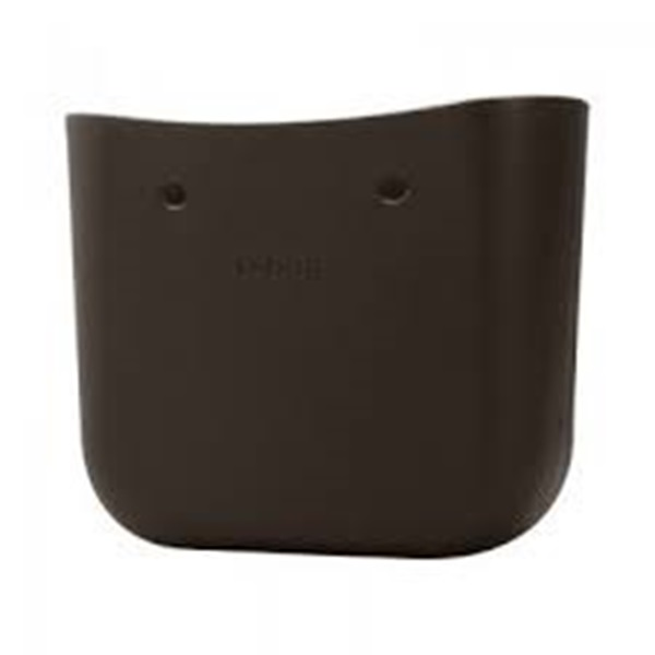 O bag dark brown