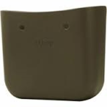 O bag dark green