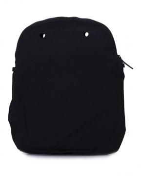 O bag 50 canvas zwart