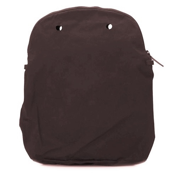 O bag 50 canvas dark brown