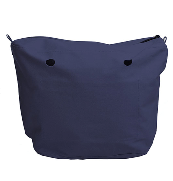 O bag canvas bleu
