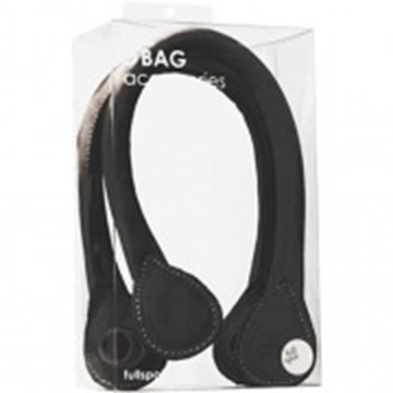 O bag short black handles