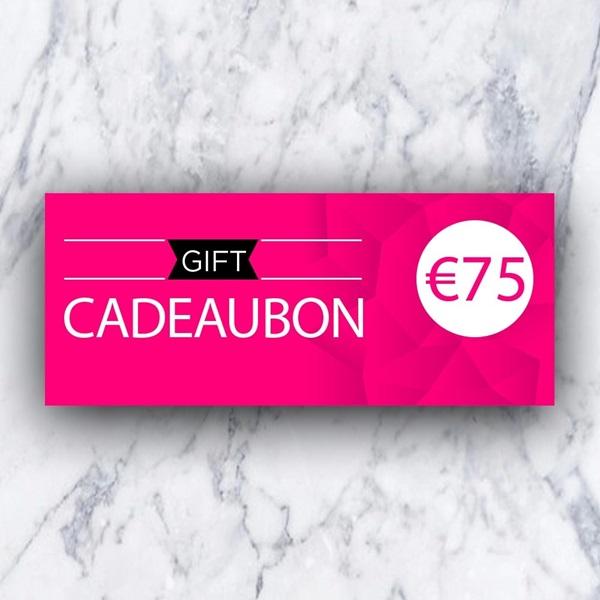 Afbeelding van Cadeaubon 75 EURO
