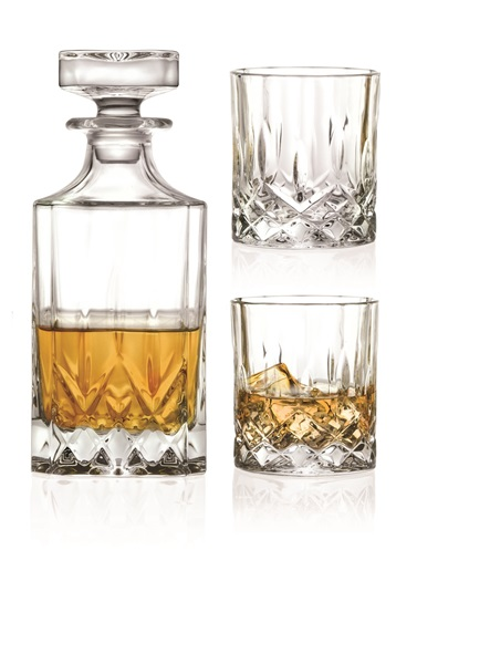 Afbeelding van Salt en pepper whiskyset Bar