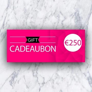 Afbeeldingen van Cadeaubon 250 EURO