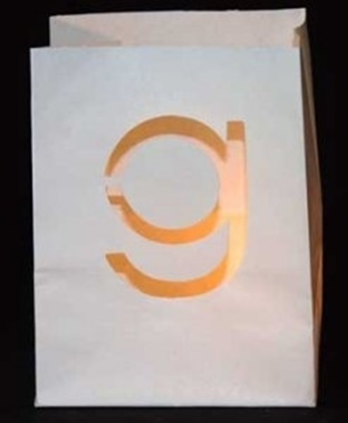 Candlebag letter g