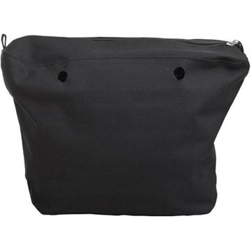 O bag canvas zwart
