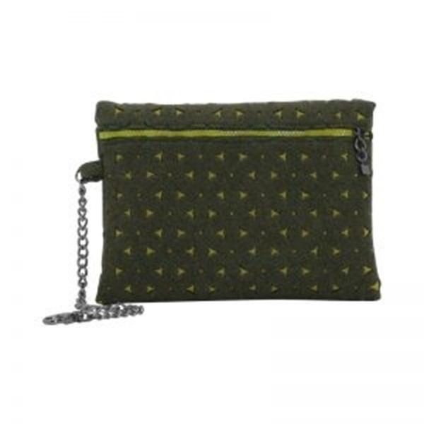 O bag pochette groen