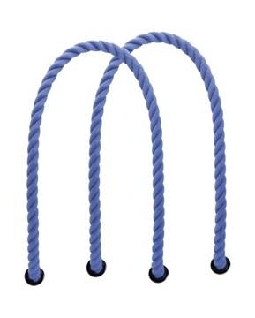 O bag blauwe koorden