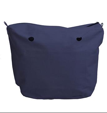 O bag canvas bleu