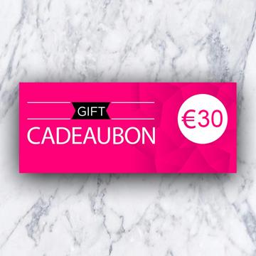 Afbeeldingen van Cadeaubon 30 euro