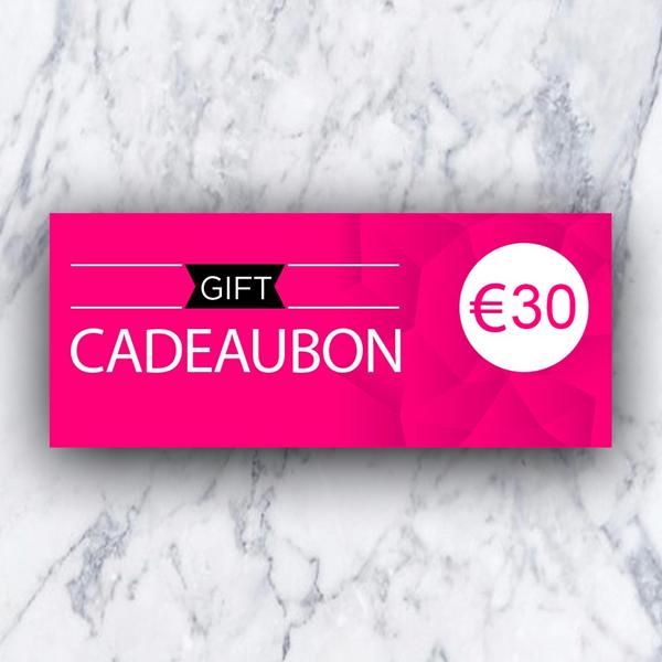 Afbeelding van Cadeaubon 30 euro