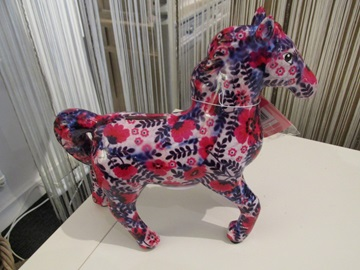 Pomme pidou spaarpot paard paars