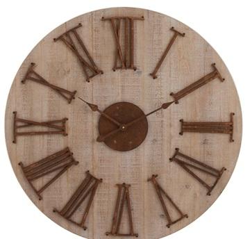 J-line houten klok