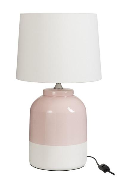 J-line lamp roze
