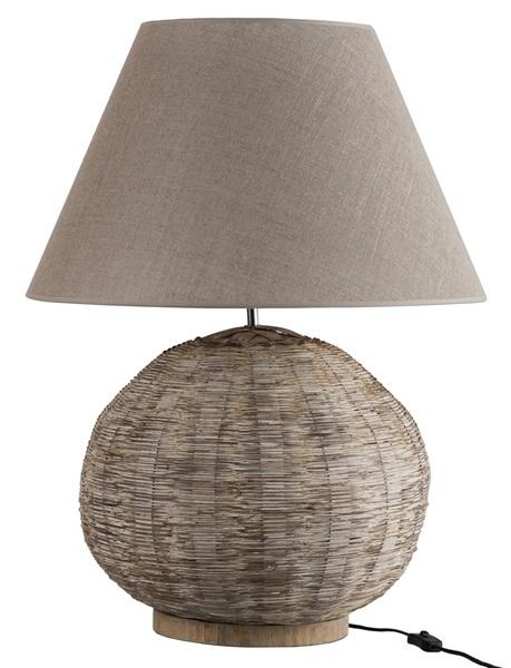 J-line bamboo lamp