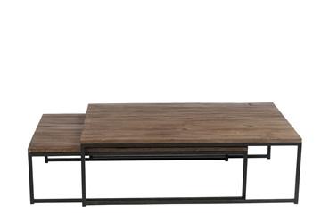 Afbeeldingen van J-line set salontafels