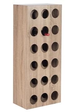 Afbeeldingen van J-line houten wijnrek