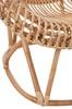 Afbeelding van J-line stoel natuur met kussen