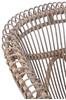 Afbeelding van J-line stoel grijs met kussen