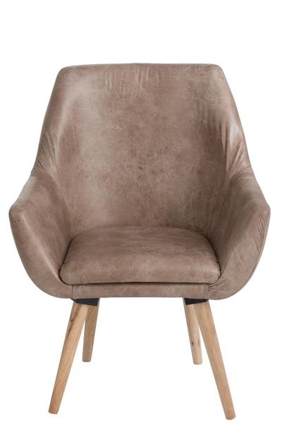 J-line retro stoel beige