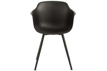 J-line stoel modern zwart