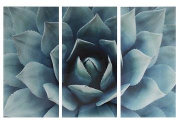 J-line schilderij bloem 3-delig