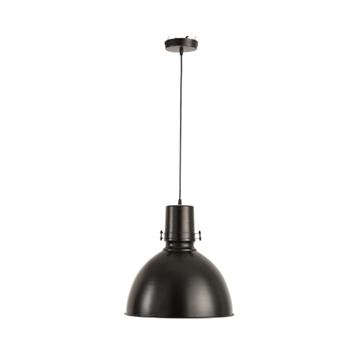 Afbeeldingen van J-line hanglamp bol ijzer zwart