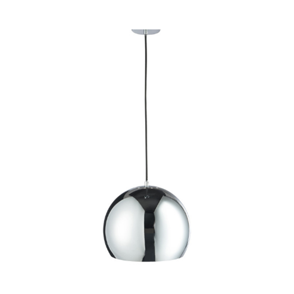 Afbeelding van J-line hanglamp metaal silver L