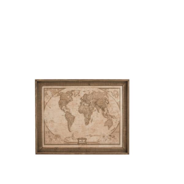 J-line wereldkaart