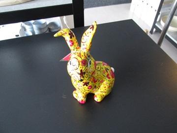 Pomme-pidou spaarpot konijn