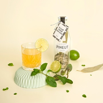 likeur limoen DIY limoncello cadeaufles drank pineut