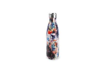 VACUUM BOTTLE 75CL ARTWORK HYDRA isoleerfles kunst salt and pepper