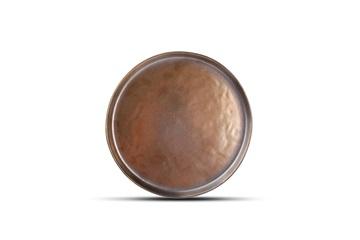 plate black gold salt and pepper 22 cm bord zwart goud