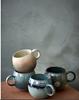 muggies dots salt and pepper mug 40 cl gift, dinner, tea, coffee