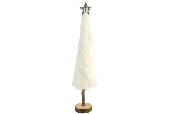 christmas tree fur, kerstboom met pels small decoration Christmas