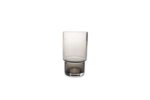 salt and pepper glasses smoked secrets zwart glazen glassware
