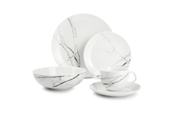 Marble Stone serviesset Salt & Pepper