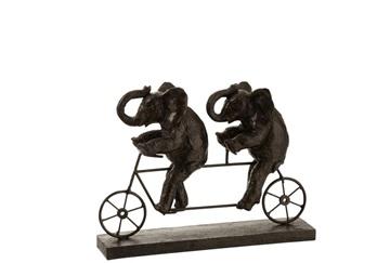 J-line olifant op fiets